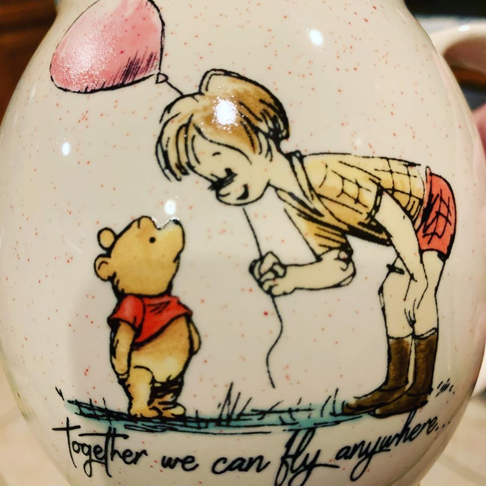 pooh cup